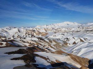 Snow inLandmannalaugar