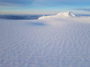 Caldera at Öræfajökull glacier